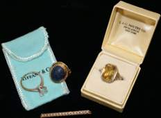 14KT. GOLD LOT TO INCLUDE A WHITE AND YELLOW GOLD