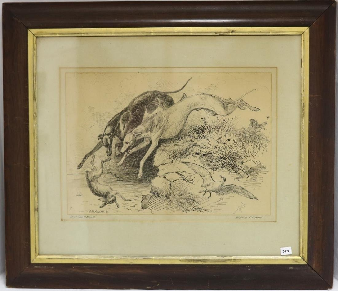 ALFRED WILLIAM STRUTT (1856-1924), PEN AND INK