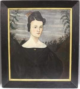 ASAHEL POWERS (1759-1841, SHIRLEY, MA), OIL