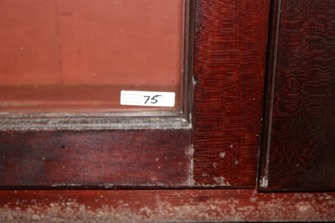 LATE 18TH C PENN. STEP-BACK CUPBOARD, CHERRY, - 3