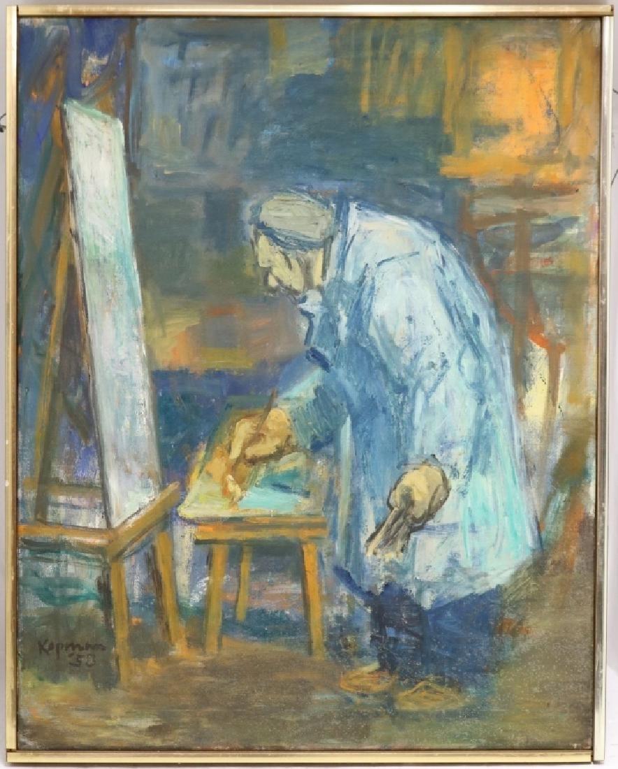 BENJAMIN KOPMAN (1887-1965, NY & NJ), OIL ON