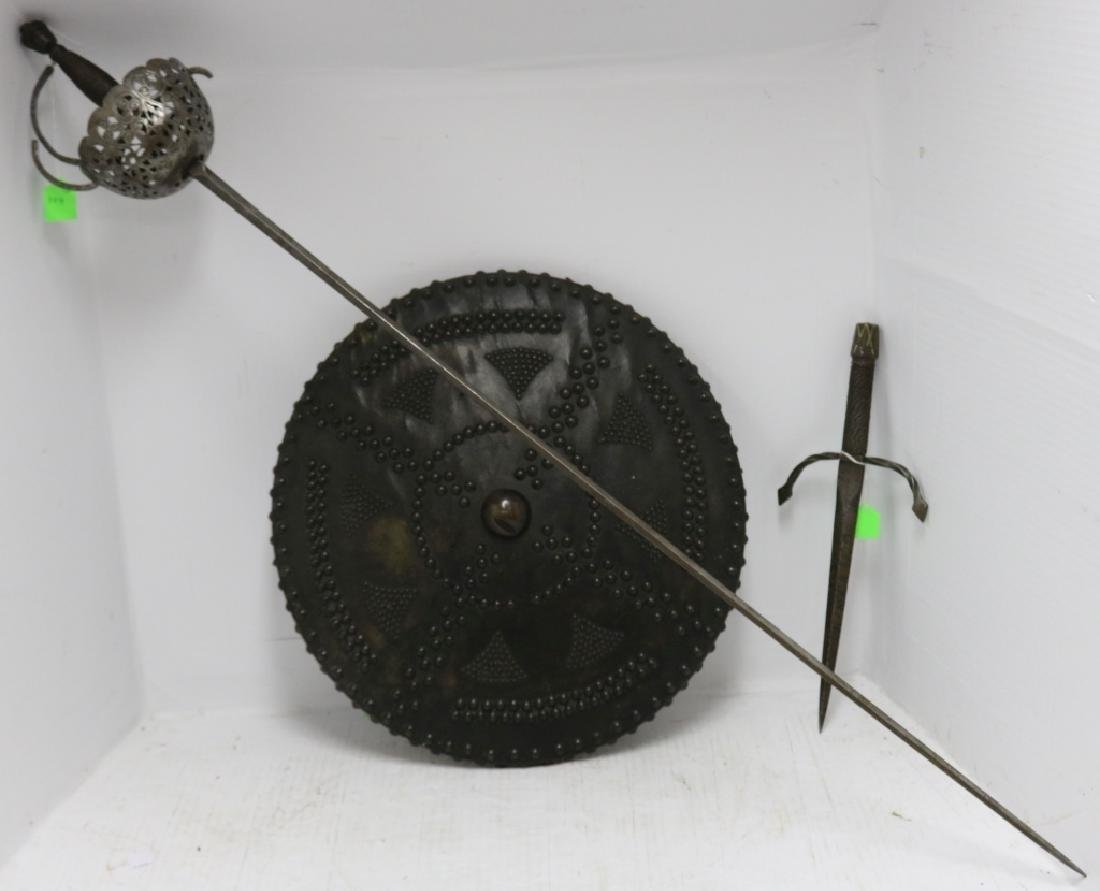3 PIECE VICTORIAN WEAPON LOT TO INCLUDE