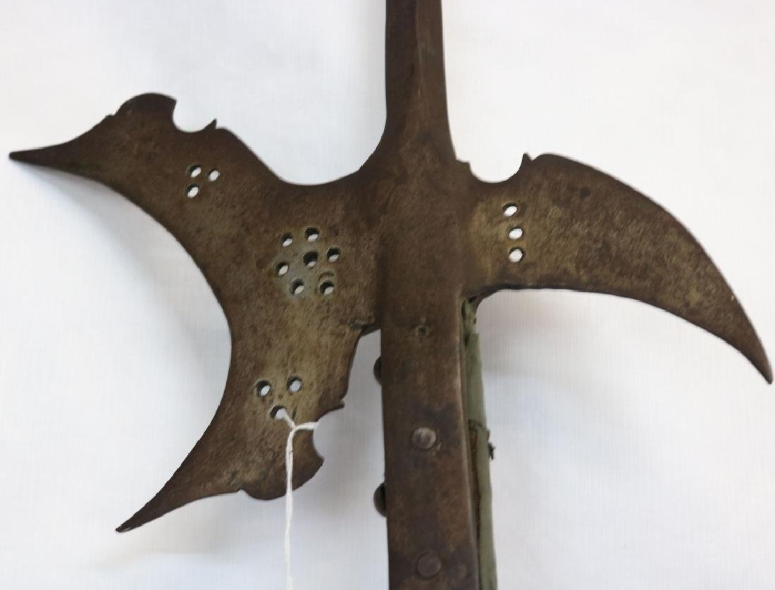 2 VICTORIAN ERA GLAIVES OR POLEARMS.  ONE IS - 3