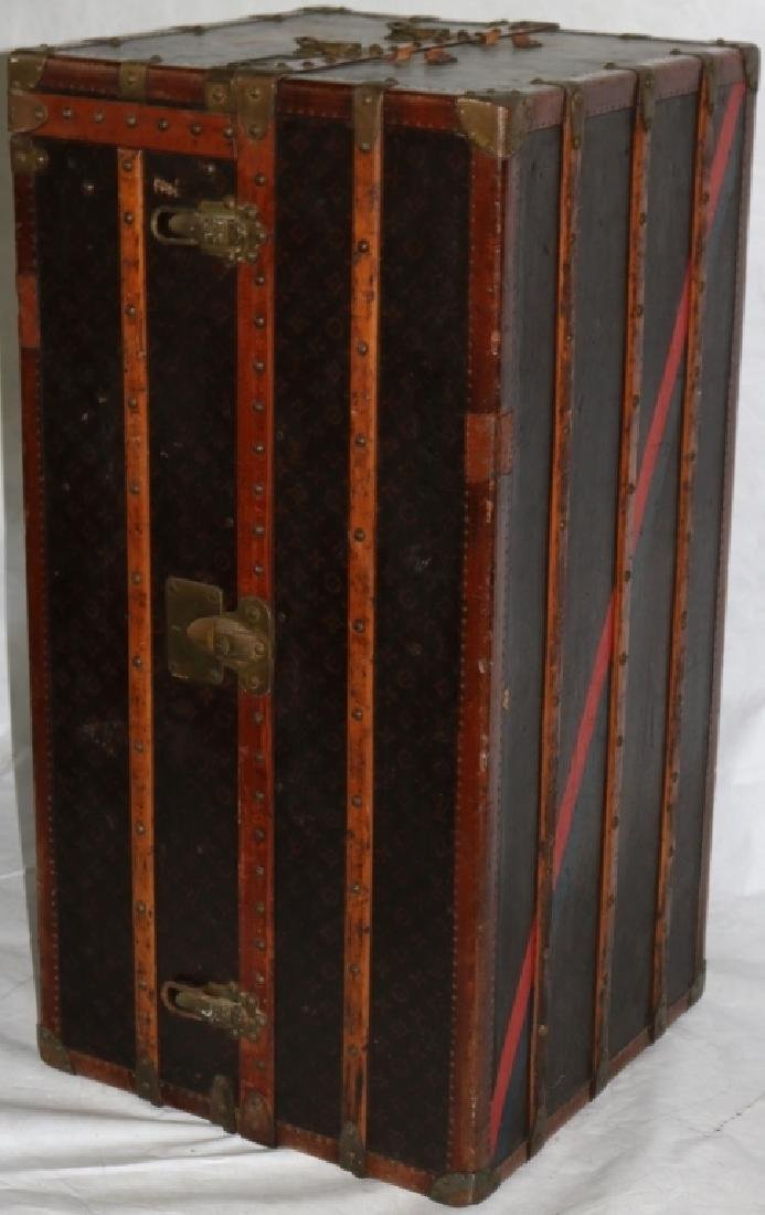 LOUIS VUITTON TRUNK, CA 1900, WITH FITTED