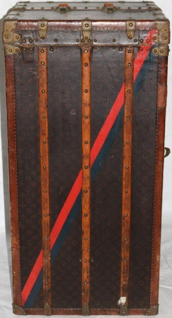 LOUIS VUITTON TRUNK, CA 1900, WITH FITTED - 7