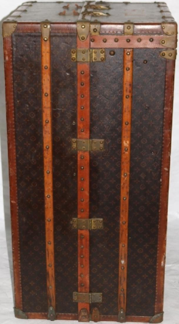LOUIS VUITTON TRUNK, CA 1900, WITH FITTED - 8