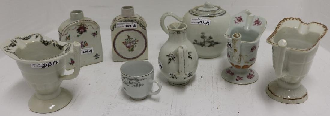 8 PCS OF CHINESE EXPORT PORCELAIN TO INCLUDE - 2