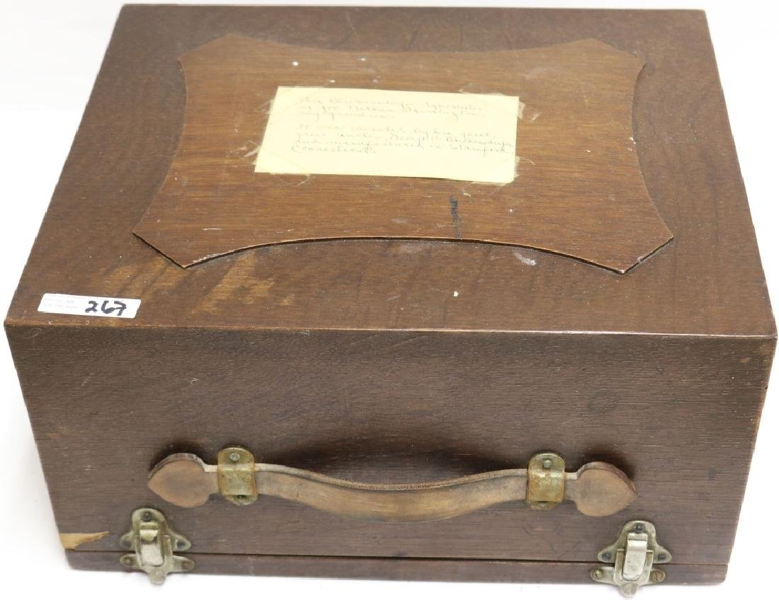 PORTABLE TYPEWRITER INVENTED BY GEORGE - 3