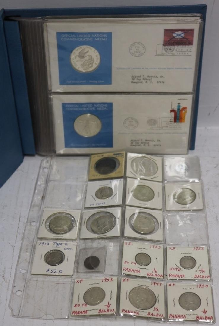 MISC. COIN LOT TO INCLUDE FIVE 1972 FIRST DAY
