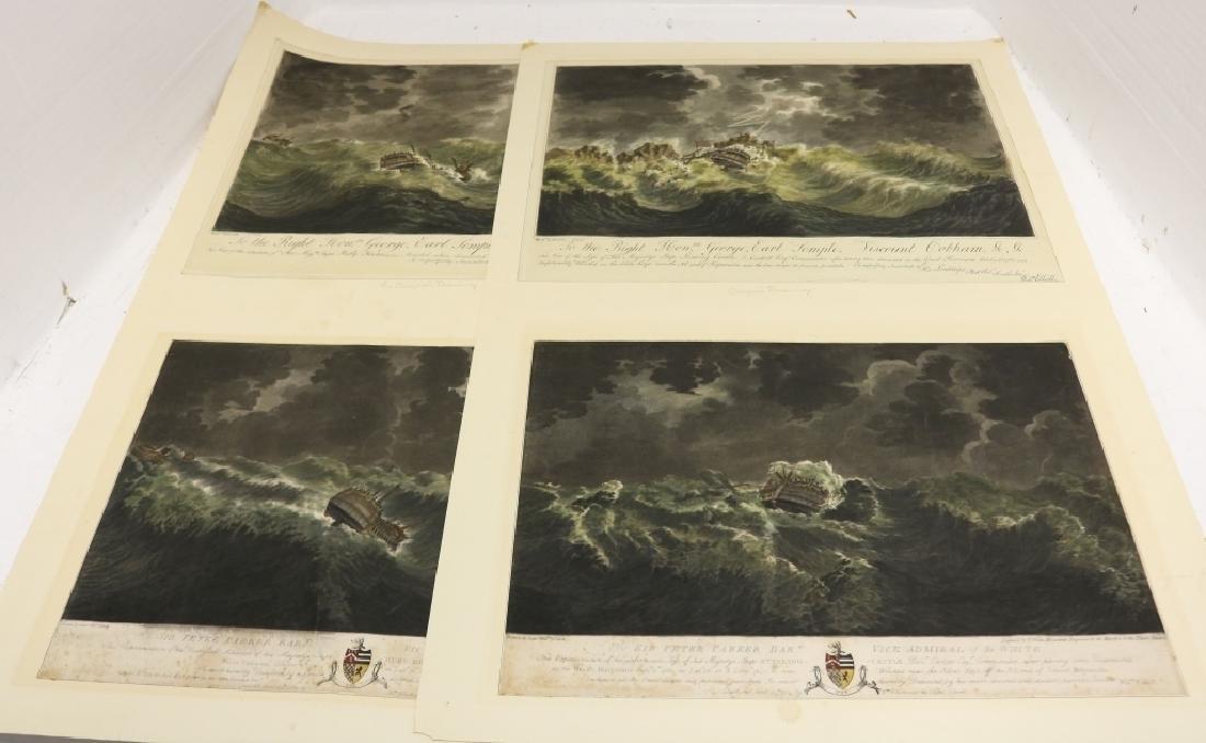 4 INTERESTING WORKS BY WILLIAM ELLIOTT (DIED 1792,