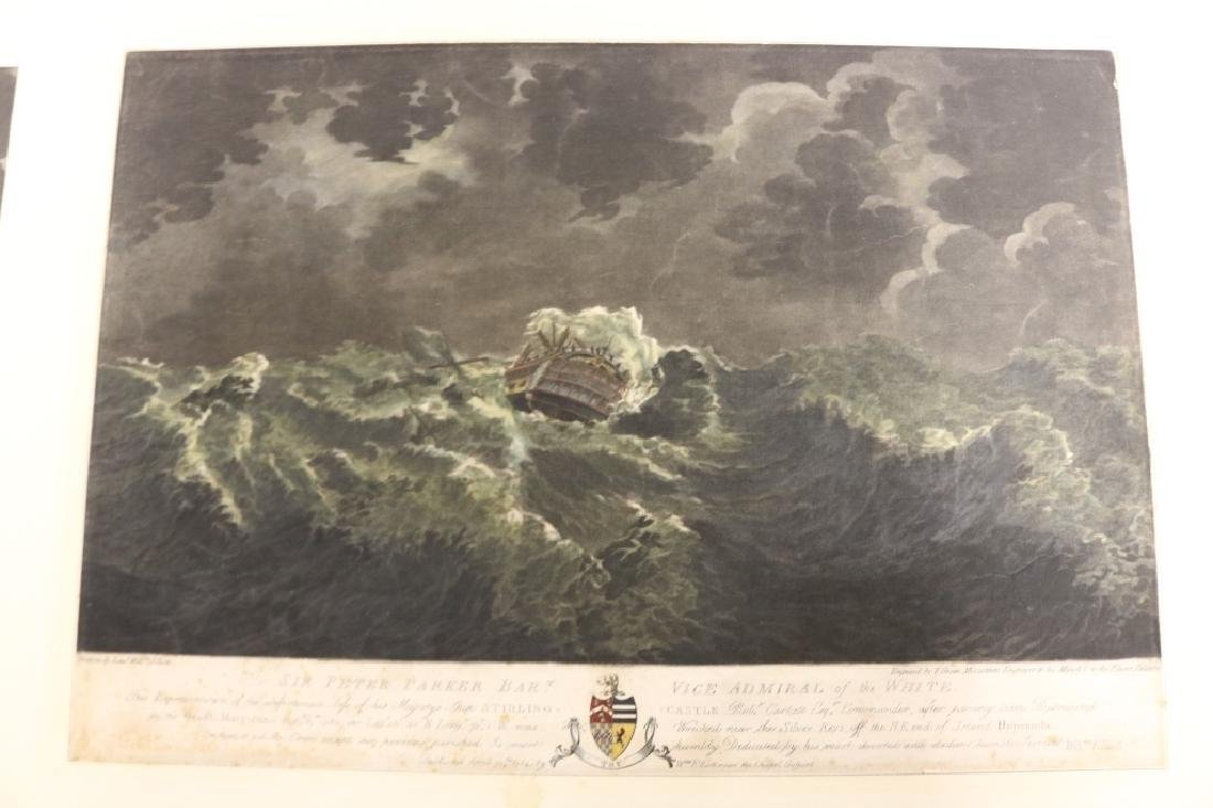 4 INTERESTING WORKS BY WILLIAM ELLIOTT (DIED 1792, - 3