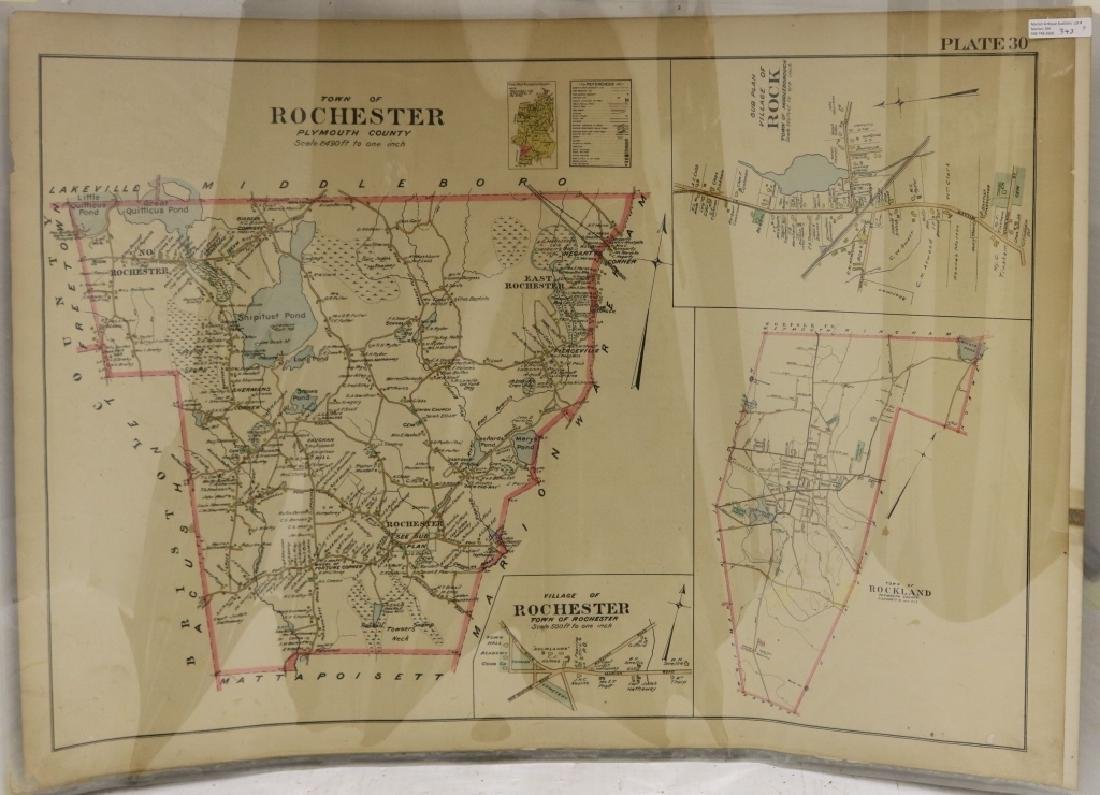 3 UNFRAMED MAPS TO INCLUDE TWO 1903 MAPS OF