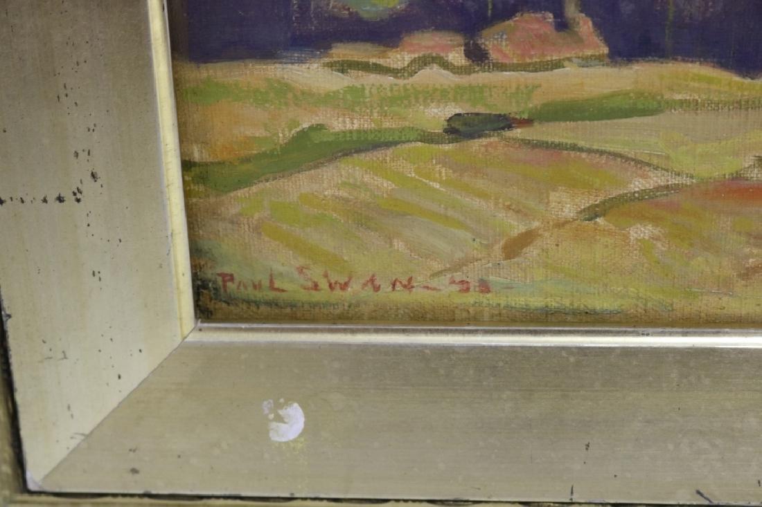 PAUL SWAN (1884-1972, NY, NEB, ILL), OIL PAINTING - 2