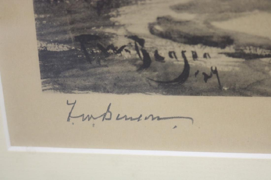 AFTER FRANK WESTON BENSON, LITHOGRAPH, - 2