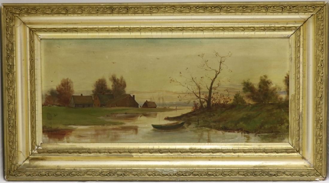 LOUIS K. HARLOW (1850-1913, WAREHAM, MA), ATTRIB.,