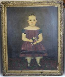 ATTRIBUTED TO JOSEPH WHITING STOCK, UNSIGNED OIL