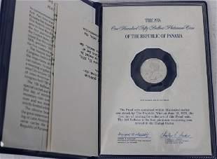 1976 FRANKLIN MINT 150 BALBOA PLATINUM COIN