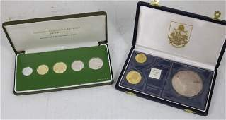 FRANKLIN MINT COIN LOT TO INCLUDE A SILVER