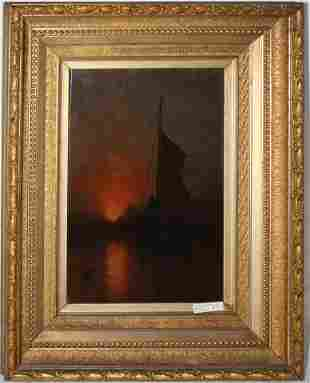 CHARLES HENRY GIFFORD (1839-1904, FAIRHAVEN) OIL