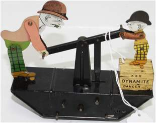 CA. 1930S MARX TOY TIN LITHOGRAPH WIND UP