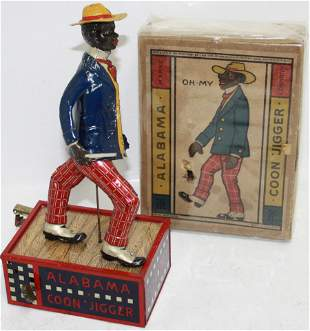 """LEHMANN TIN LITHOGRAPH WIND-UP TOY CALLED """"THE"""