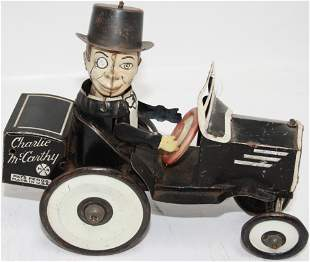 MARX TIN LITHOGRAPH CHARLIE MCCARTHY WIND-UP TOY