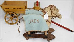 LOT OF 2 LATE 19TH CENTURY TOYS. TO INCLUDE: NO.