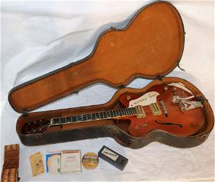 CA. 1967 GRETSCH BY BIGSBY ELECTRIC GUITAR, MODEL