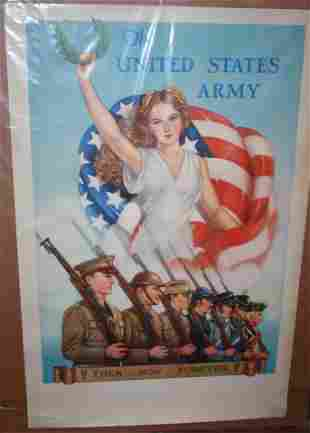 WORLD WAR II UNITED STATES AMY POSTER, AFTER TOM