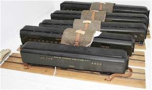 "LOT OF FIVE ELECTRICAL ""NEW YORK CENTRAL"" MODEL"