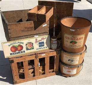 LOT OF 12 20TH C. ADVERTISING ITEMS. TO INCLUDE