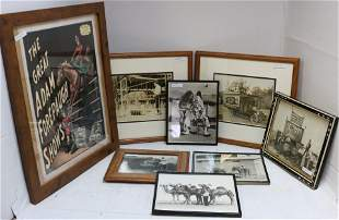 LOT OF 8 FRAMED 20TH CENTURY PHOTOGRAPHIC PRINTS