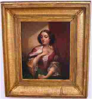 FRAMED OIL PAINTING ON CANVAS BY CEPHAS