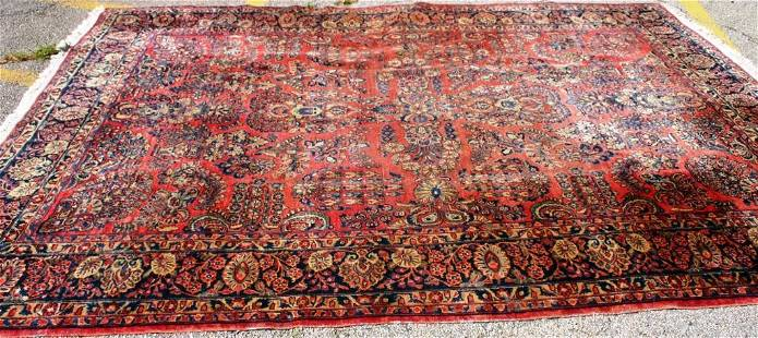 EARLY 20TH CENTURY PERSIAN SAROUK CARPET,