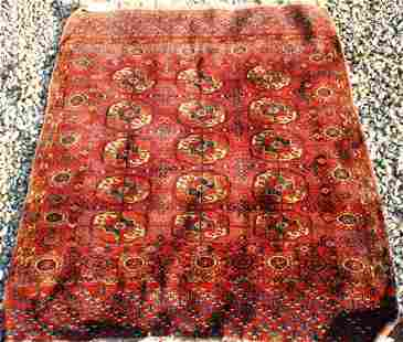 EARLY 20TH CENTURY BOKHARA CARPET, GOOD CONDITION