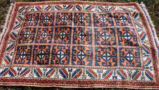 EARLY 20TH CENTURY TURKISH SCATTER RUG,