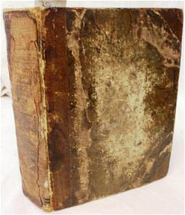 HOLY BIBLE, OLD & NEW TESTAMENT, DATED 1613,