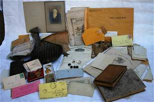 LARGE LOT RELATED TO WAREHAM'S OLDEST CIVIL WAR