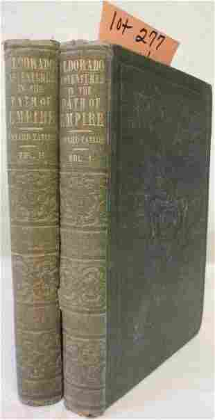 TWO VOLUME BOUND SET OF BOOKS TITLED
