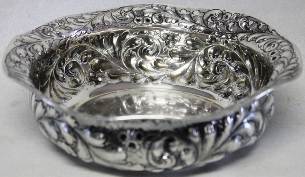 GORHAM STERLING SILVER REPOUSSE BOWL