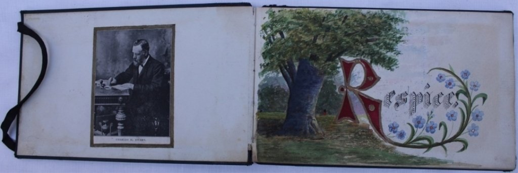 IMPORTANT BOUND SKETCH BOOK BY NOTED SCOTTISH