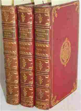 3 VOLS 8VO BEL'S TRAVELS THROUGH RUSSIA AND