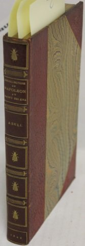 BOUND BOOK RECOLLECTIONS OF THE EMPEROR NAPOLEON
