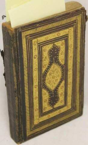 BOOK IN ARABIC, POSSIBLY THE KORAN, 10VO