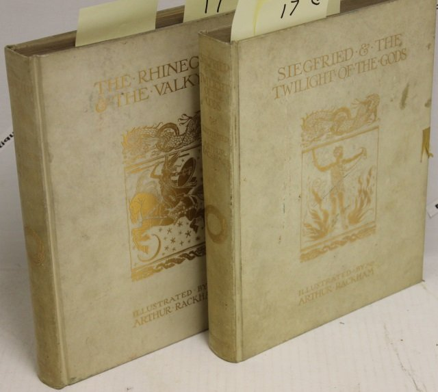 2 BOUND BOOKS 4TO. ONE IS SIEGFRIED AND THE