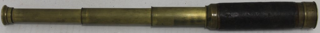 POCKET TELESCOPE ENGRAVED HORATIO NELSON, 1770,