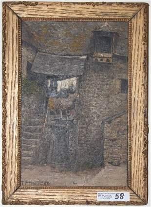 THOMAS ALEXANDER HARRISON (1853-1930, NY ARTIST)