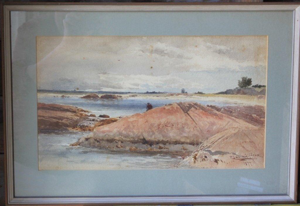 R. SWAIN GIFFORD (1840-1905, NEW BEDFORD ARTIST),