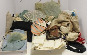 Late 19th & Early 20th C Large Clothing Lot To