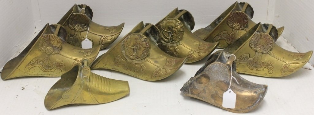 EIGHT 18TH & 19TH C SPANISH COLONIAL BRASS